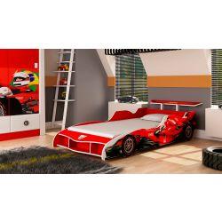 Cama Infantil Gelius Carro F1 Vermelha 3103eeb625a8b